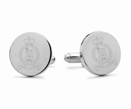 Adjutant General's Corps Engraved Cufflinks
