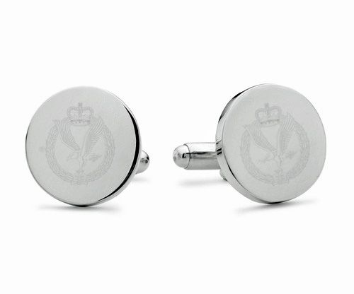 Army Air Corps Engraved Cufflinks