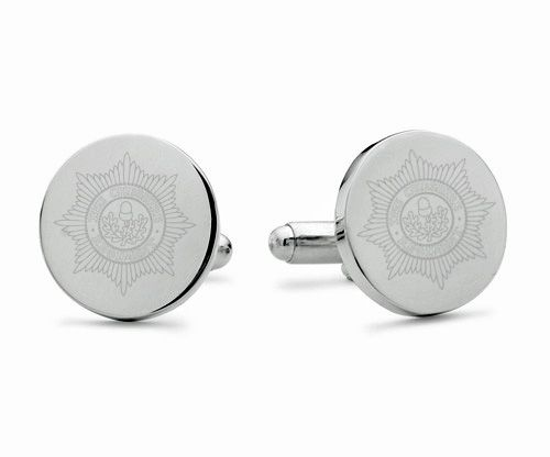 Cheshire Regiment Engraved Cufflinks