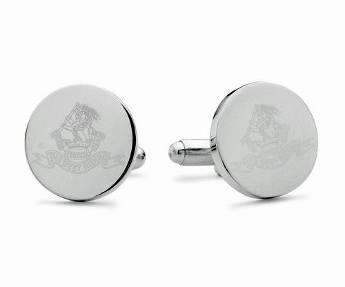 Duke of Wellington's Regiment Engraved Cufflinks