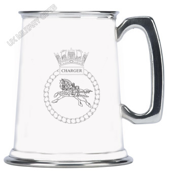 HMS Charger Pewter Tankard