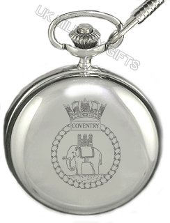 HMS Coventry Pocket Watch