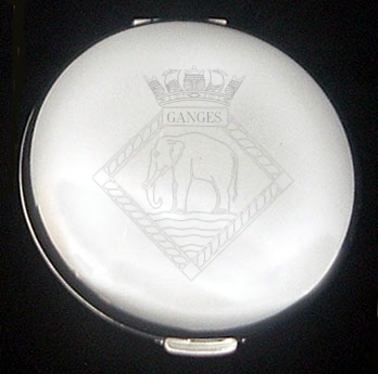 HMS Ganges Handbag Mirror