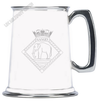 HMS Ganges Pewter Tankard