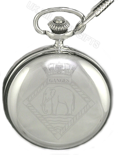 HMS Ganges Pocket Watch