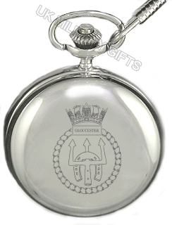 HMS Gloucester Pocket Watch