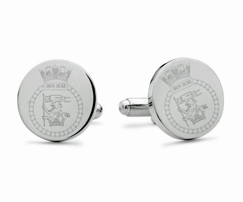 HMS Iron Duke Engraved Cufflinks