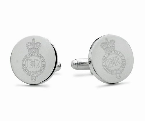 Household Cavalry Regiment Engraved Cufflinks