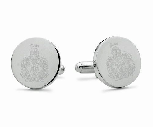 King's Own Scottish Borderers Engraved Cufflinks