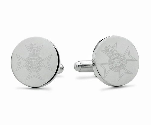 Light Dragoons Engraved Cufflinks