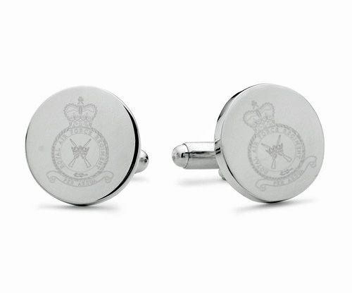 RAF Regiment Engraved Cufflinks