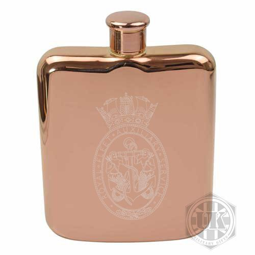 RFA Steel Hip Flask
