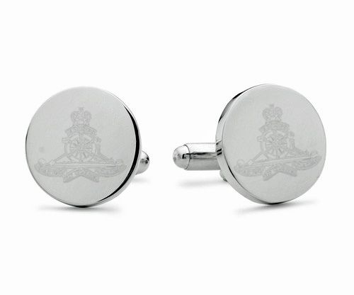 Royal Artillery Engraved Cufflinks