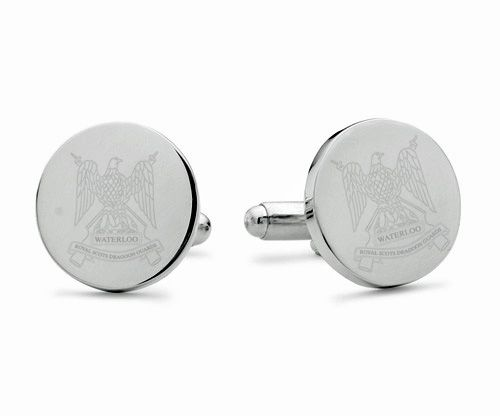 Royal Scots Dragoon Guards Engraved Cufflinks