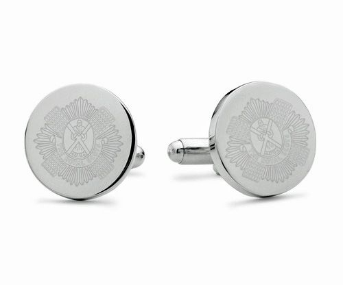 Royal Scots Engraved Cufflinks