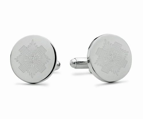 Scots Guards Engraved Cufflinks