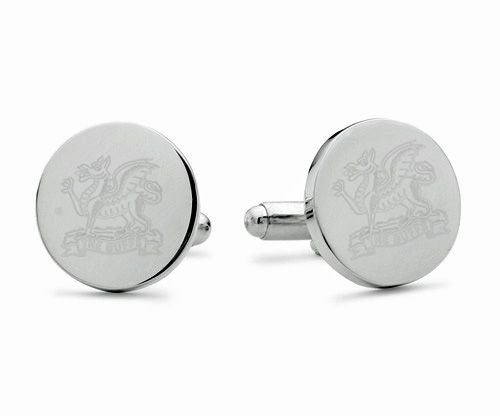 The Buffs Engraved Cufflinks
